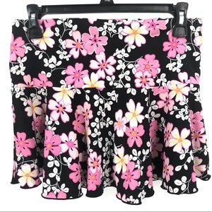 VICTORIA'S SECRET Size Small Floral Coverup Skirt